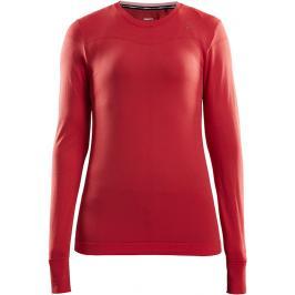 Dámské tričko Craft Fuseknit Comfort LS červené