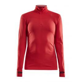 Dámské tričko Craft Fuseknit Comfort Zip červené