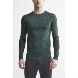 Pánské tričko Craft Fuseknit Comfort LS tmavě zelené