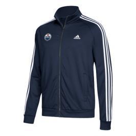 Pánská sportovní bunda adidas Track Jacket NHL Edmonton Oilers