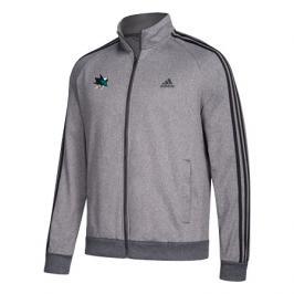 Pánská sportovní bunda adidas Track Jacket NHL San Jose Sharks