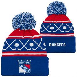 Dětská zimní čepice Outerstuff Face Off NHL New York Rangers