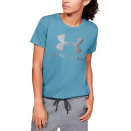 Dámské tričko Under Armour Graphic Sportstyle Classic Crew modré