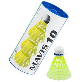 Badmintonové míče Yonex Mavis 10 Yellow (dóza po 3 ks)