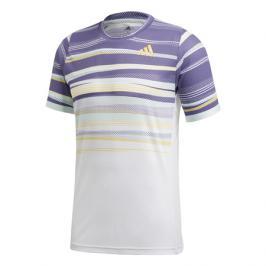 Pánské tričko adidas Freelift Tee Heat.RDY White/Purple
