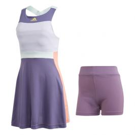 Dámské šaty adidas Heat.RDY Dress Purple