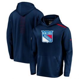 Pánská mikina s kapucí Fanatics Rinkside Synthetic Pullover Hoodie NHL New York Rangers