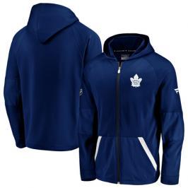 Pánská mikina na zip s kapucí Fanatics Rinkside Gridback Full-Zip Hoodie NHL Toronto Maple Leafs