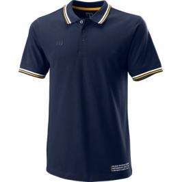 Pánské tričko Wilson Since 1914 Pique Polo Peacoat