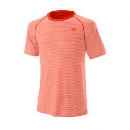 Pánské tričko Wilson Training Crew Tangerine