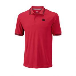 Pánské tričko Wilson Star Tipped Polo Infrared
