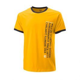 Pánské tričko Wilson Since 1914 Tee Yellow
