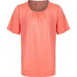 Dámské tričko Endurance Q Bree Melange SS Tee oranžové