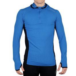 Pánská mikina Endurance Daker Wool Midlayer modrá