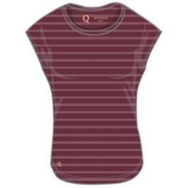 Dámské tričko Endurance Q Minsta Tee vínové