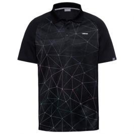 Pánské tričko Head Performance Polo Black