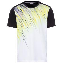Pánské tričko Head Vision Slider Black/Yellow