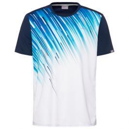 Pánské tričko Head Vision Slider Dark Blue/White