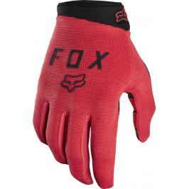 Cyklistické rukavice Fox Ranger Glove Gel červené