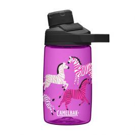 Dětská láhev CamelBak Chute Mag Kids 0.4l Zebras