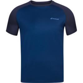 Pánské tričko Babolat Play Club Crew Neck Tee Dark Blue