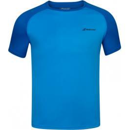 Pánské tričko Babolat Play Club Crew Neck Tee Blue