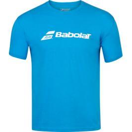 Pánské tričko Babolat Exercise Tee Blue