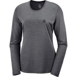Dámské tričko Salomon Agile LS Tee šedé