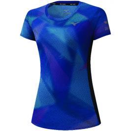 Dámské tričko Mizuno Aero Graphic Tee modré
