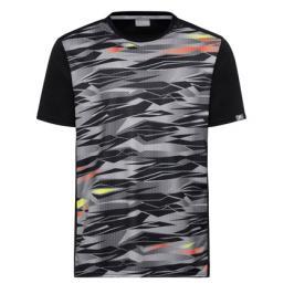 Dětské tričko Head Vision Slider Black/Grey