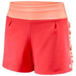 Dětské šortky Wilson Core 2.5 Short G Cayenne/Papaya