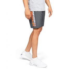 Pánské šortky Under Armour  Woven Graphic Wordmark šedé