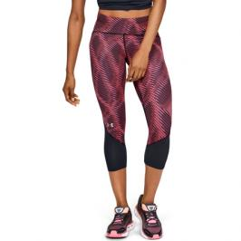 Dámské 3/4 legíny Under Armour Fly Fast HeatGear Printed Crop