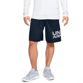 Pánské šortky Under Armour Tech Wordmark tmavě modré