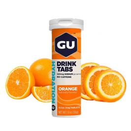 Iontový nápoj GU Hydration Drink Tabs 54 g Orange