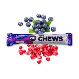 Energetické bonbóny GU Chews 54 g Blueberry/Pomegranate