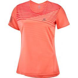 Dámské tričko Salomon Sense Tee oranžové