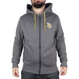 Pánská mikina s kapucí Fanatics Oversized Split Print Zip Thru Hoodie NFL Minnesota Vikings