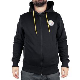 Pánská mikina s kapucí Fanatics Oversized Split Print Zip Thru Hoodie NFL Pittsburgh Steelers