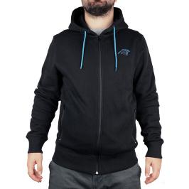 Pánská mikina s kapucí Fanatics Oversized Split Print Zip Thru Hoodie NFL Carolina Panthers