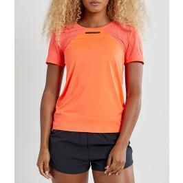 Dámské tričko Craft Fuseknit Vent Mesh oranžové