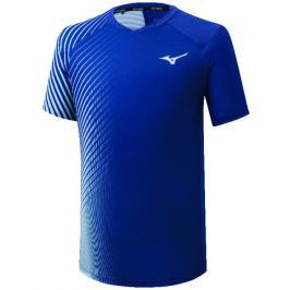 Pánské tričko Mizuno Shadow Graphic Tee Blue