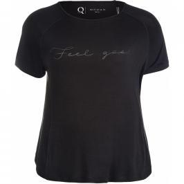 Dámské tričko Endurance Q Tinine Tee černé