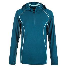 Dámská mikina Endurance Vesta Wool Midlayer modrá