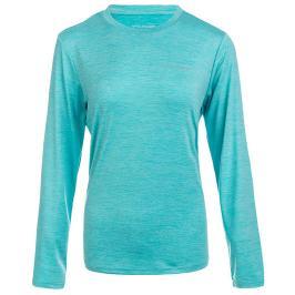 Dámské tričko Endurance Maje Melange LS Tee světle modré
