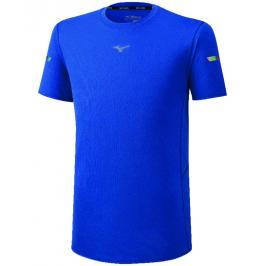 Pánské tričko Mizuno Alpha Jacquard Tee modré