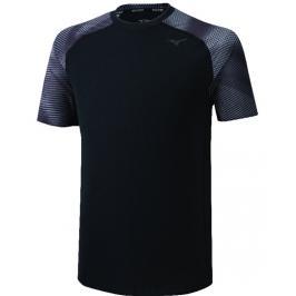 Pánské tričko Mizuno Printed Tee černé