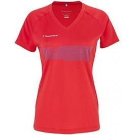 Dětské tričko Tecnifibre Lady F2 Airmesh Red