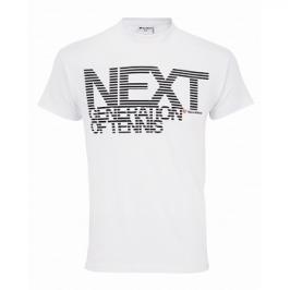 Dětské tričko Tecnifibre Cotton Next White