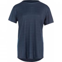 Dámské tričko Endurance Lizzy Slub tmavě modré